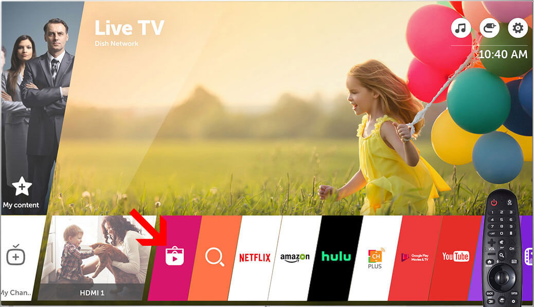 How to install Home IPTV on LG webOS
