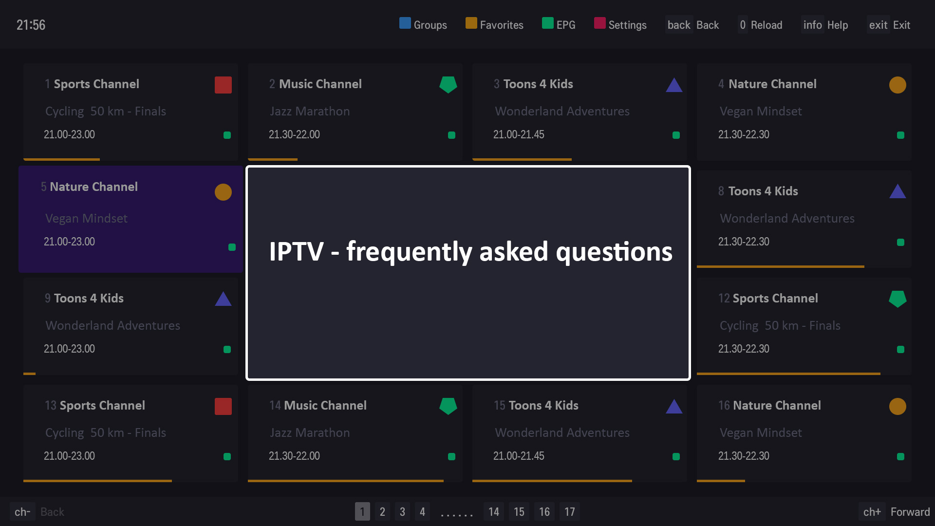 IPTV - frequently asked questions